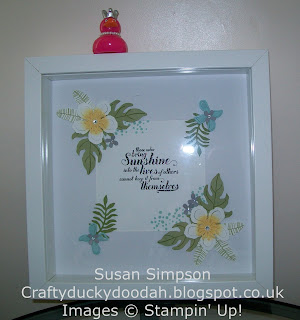 Stampin' Up! Susan Simpson Independent Stampin' Up! Demonstrator, Craftyduckydoodah!, Botanical Blooms Frame Workshop, July 2016, Supplies available 24/7,