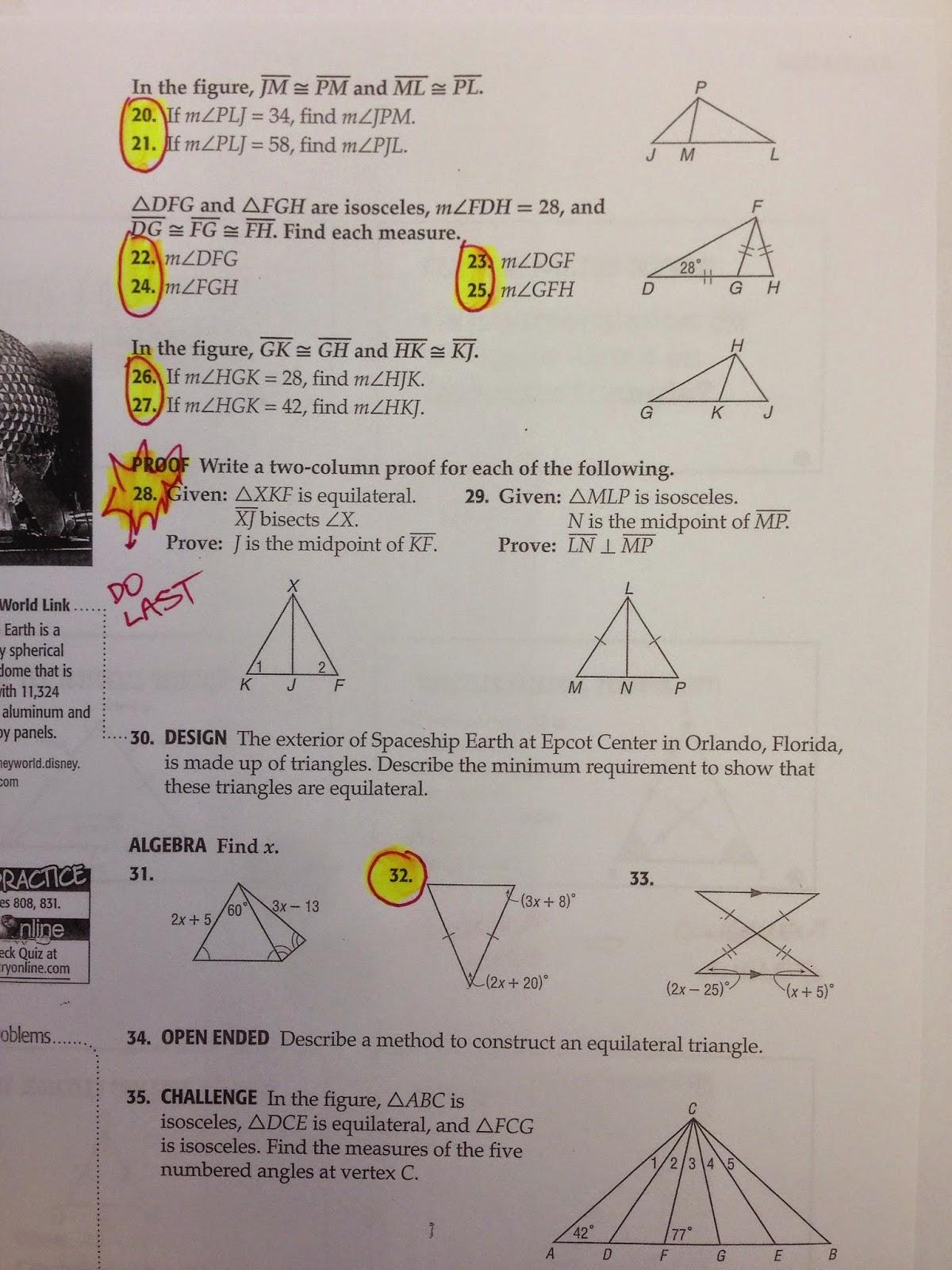 Honors Geometry