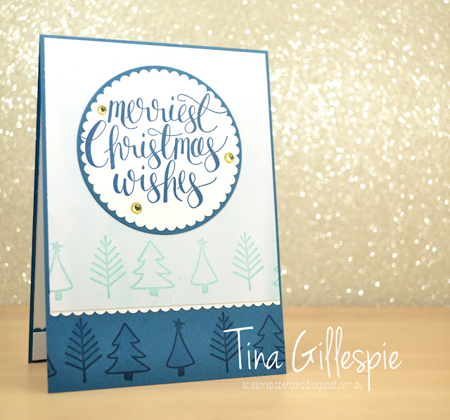 scissorspapercard, Stampin' Up!, Art With Heart, Heart Of Christmas, Watercolour Christmas