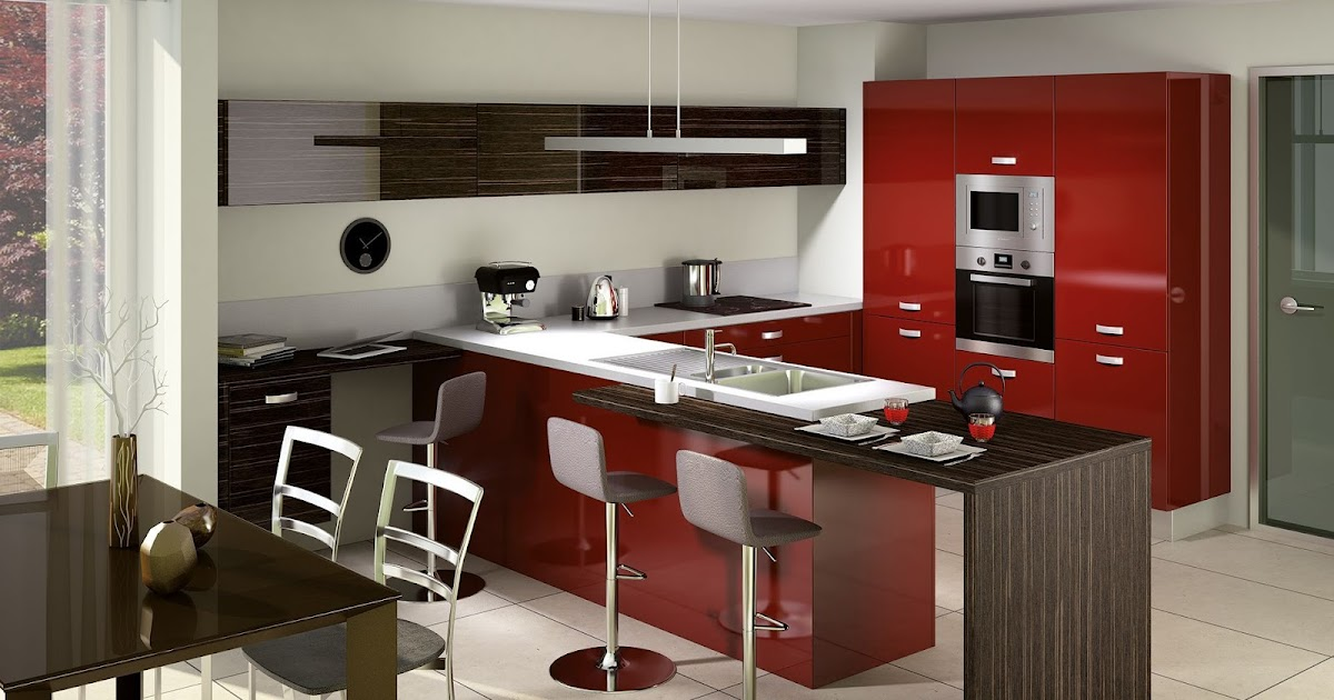Choisissez votre cuisine sur mesure cuisine quip e - Cuisine moderne sur mesure ...