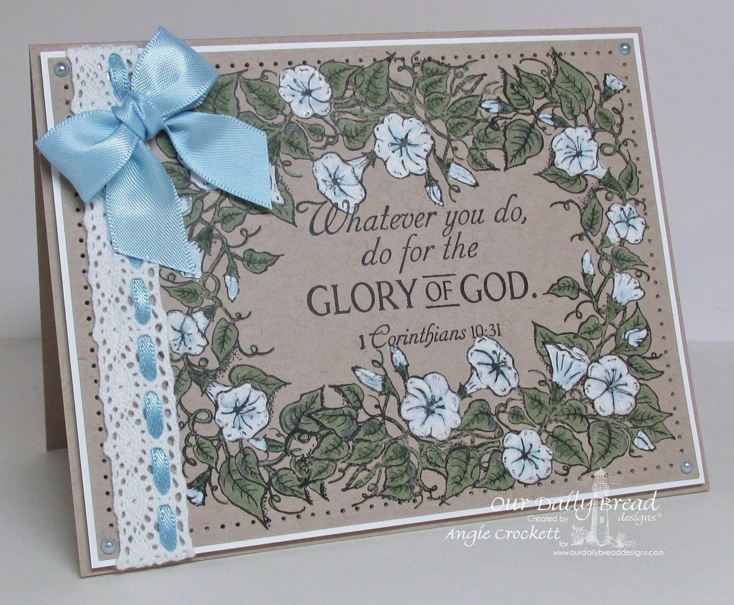 ODBD Glory, Card Designer Angie Crockett