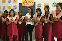Actress Priya Anand in T Shirt with Students of Shiksha Movement Events 39.jpg