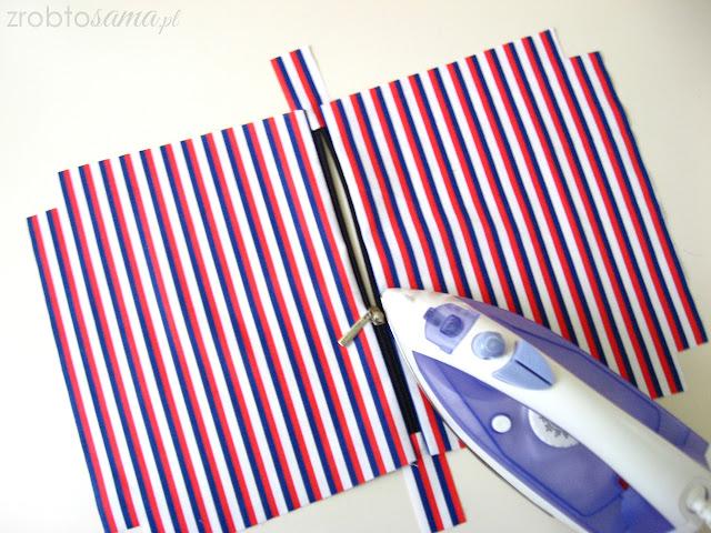 DIY Jak uszyć kosmetyczkę tutorial krok po kroku - zrób to sama
