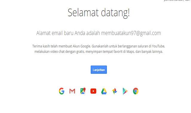 Cara Tercepat Membuat Akun Gmail Baru 2018