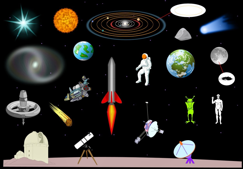 English At Intxaurrondo Hegoa School Space Vocabulary Game