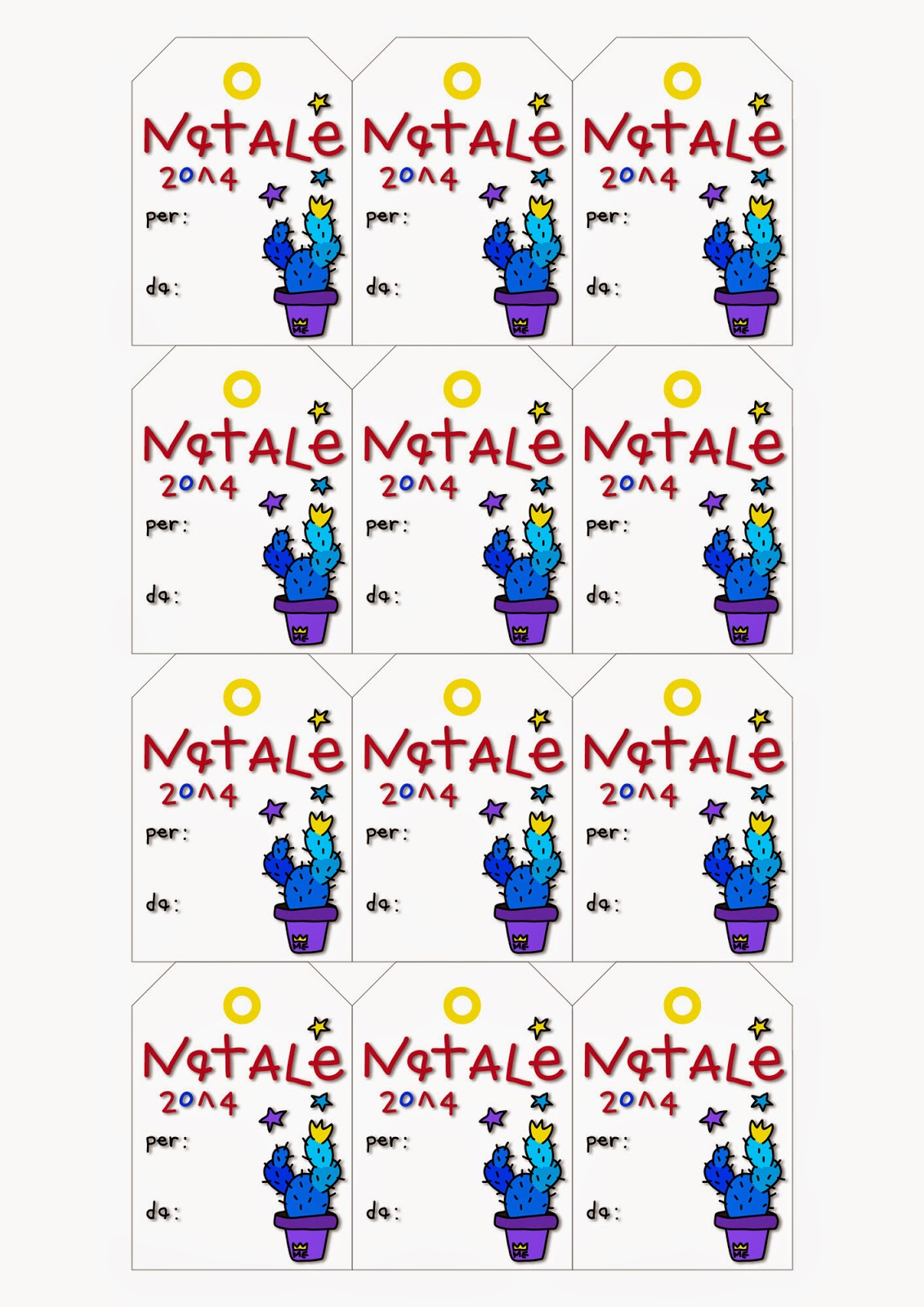 Etichette Natalizie Da Stampare elena mirandola blog: buone feste! ☆ etichette omaggio per
