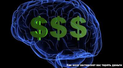 Как мозг заставляет вас терять деньги
