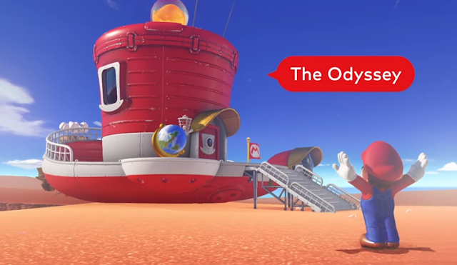 Super Mario Odyssey - Adventure With Cappy The Magic Cap