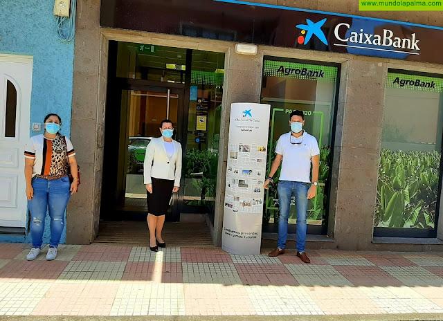 La obra social la Caixa apoya al ayuntamiento de Barlovento para garantizar la protección frente al COVID-19