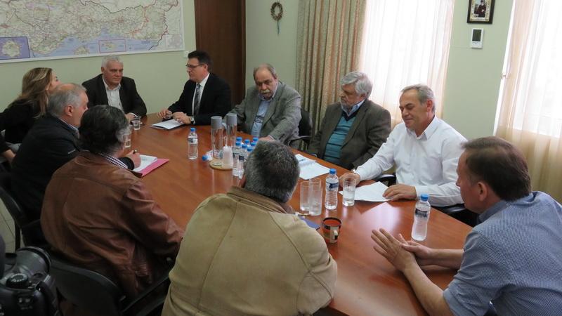 Σύσκεψη παρουσία του Γιάννη Τσιρώνη στην Αλεξανδρούπολη