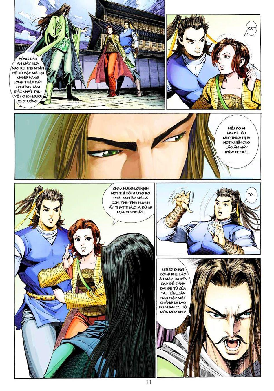Anh Hùng Xạ Điêu anh hùng xạ đêu chap 33 trang 11