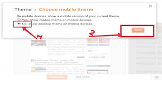 Blogger me template ko mobile friendly kese setup kare