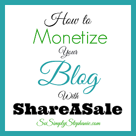 earn money with shareasale