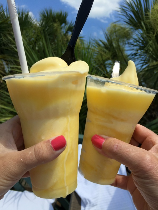 Disney Dole Whip Rum Float