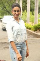 Rakul Preet Singh in Jeans and White Shirt At Jaya Janaki Nayaka le Logo Launch ~  Exclusive 024.JPG