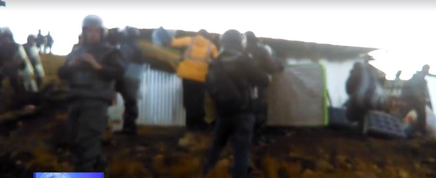 Indignante! Familia Pajares es desalojada de sus propios terrenos por Minera Yanacocha