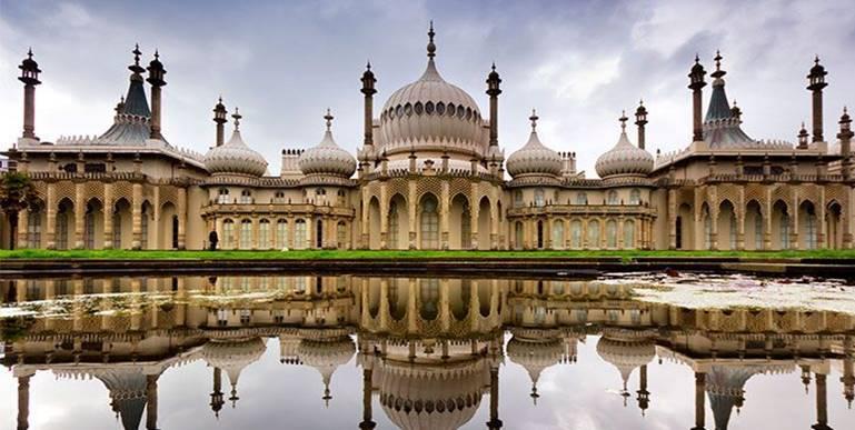Resultado de imagen de Pabellón real de Brighton.