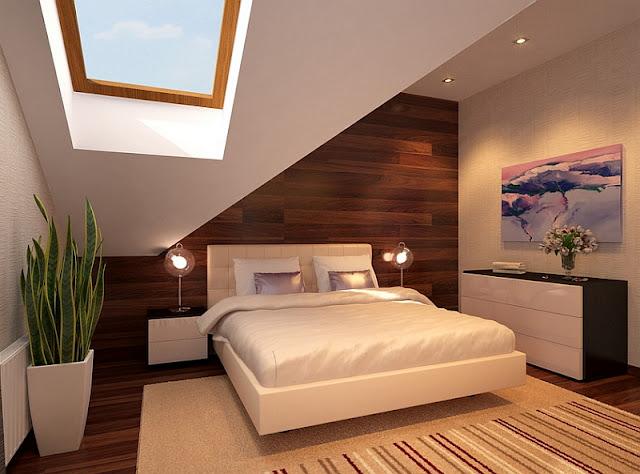 desain tempat tidur minimalis modern