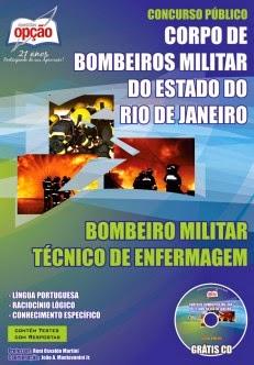 Apostila BombeirosRJ TÉCNICO DE ENFERMAGEM