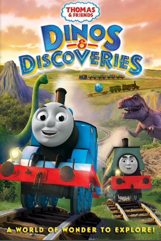 Thomas & Friends: Dinos And Discoveries [2015] [DVDR] [NTSC] [Latino]