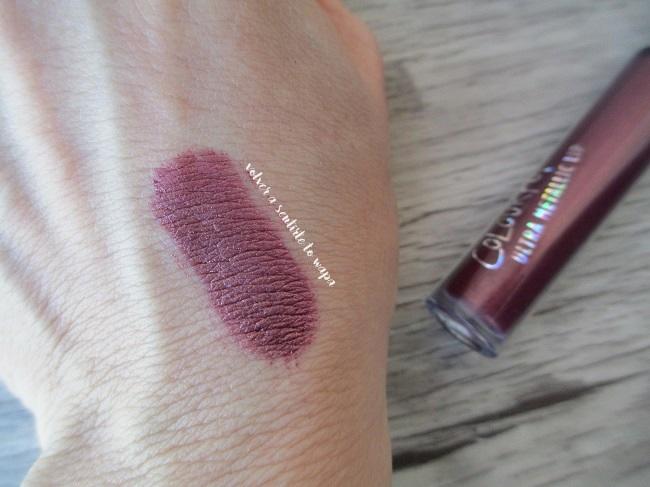 Labios Metálicos - UltraMetallic Lip de Colourpop - 3-Way