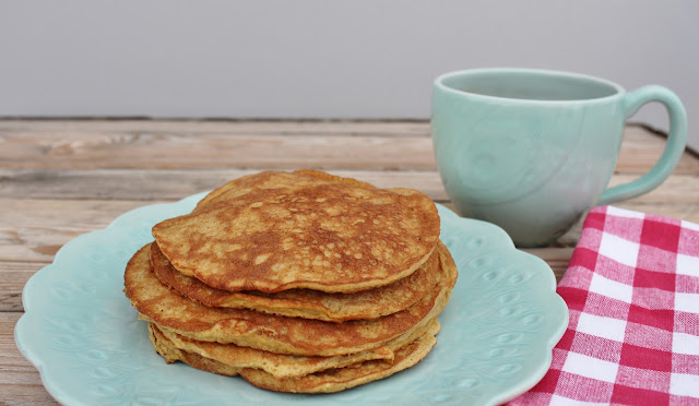 Eggnog Pancakes keto and low carb