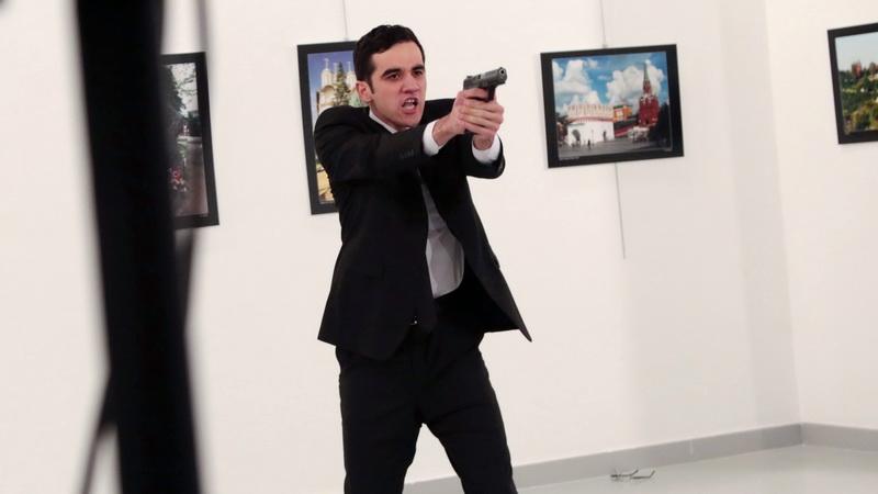 Στη φρουρά του Ερντογάν ο δολοφόνος του Ρώσου πρεσβευτή!