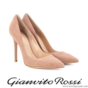 Kate Middleton wore Gianvito Rossi praline pumps