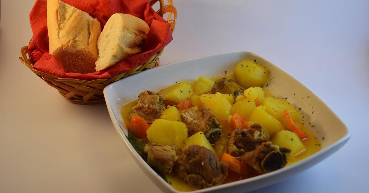 Las recetas de noe patatas guisadas con costillas de cerdo - Patatas con costillas de cerdo ...
