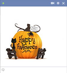 Happy Halloween - Facebook Sticker