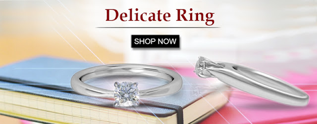 Delicate Diamond Ring, Diamond Ring, Online Diamond Ring,