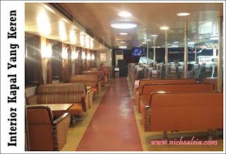 kapal motor ferry merak - bakauheni fasilitas kapal pesiar