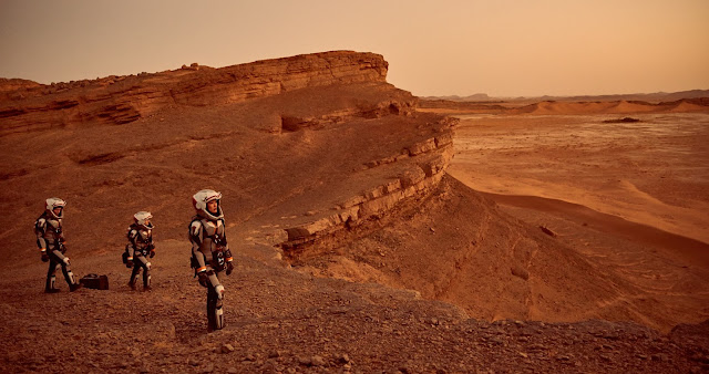 National Geographic 'Mars' - Astronauts exploring Mars