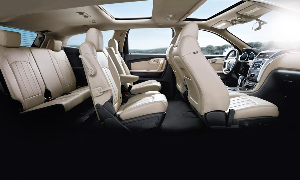chevy traverse 3rd row autos post. Black Bedroom Furniture Sets. Home Design Ideas
