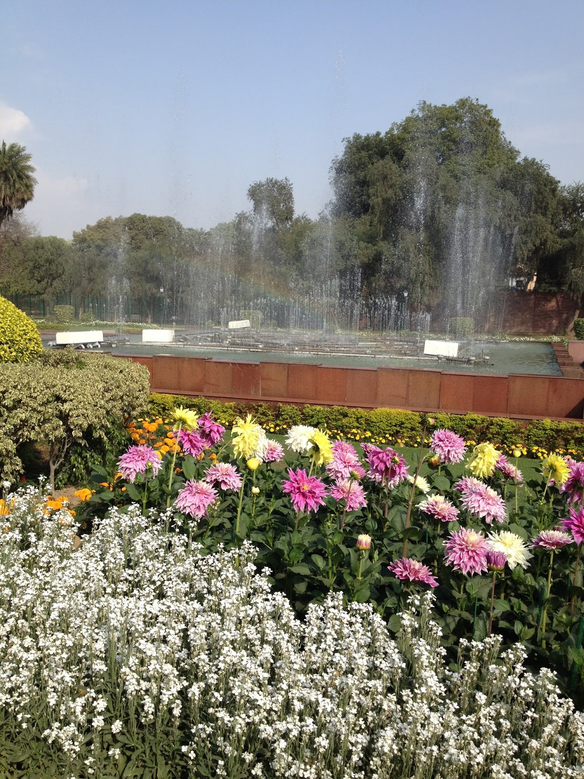 Quest for Life Mughal Garden Rashtrapati Bhawan