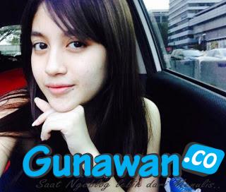 Foto Nabilah JKT48 setelah di Watermark