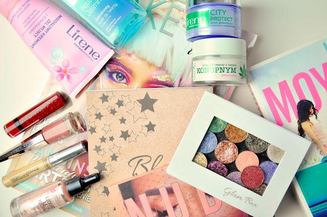 lirene, glamshop, fenty beauty, bourjois, sensique, bell hypoallergenic, huda beauty, evree, efektima