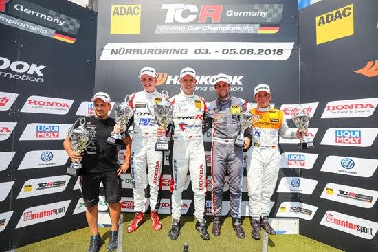 Honda-Doppelsieg auf dem Nürburgring