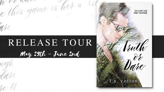 [Release Tour] TRUTH OR DARE by LA Cotton @authorlacotton #UBReview #Q&A
