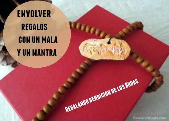 envolver, regalos, mantra, mala, espiritual, manualidades mágicas,