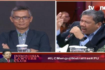 Mantul! Fachri Hamzah Bungkam KPU di ILC, Tepuk Tangan Membahana