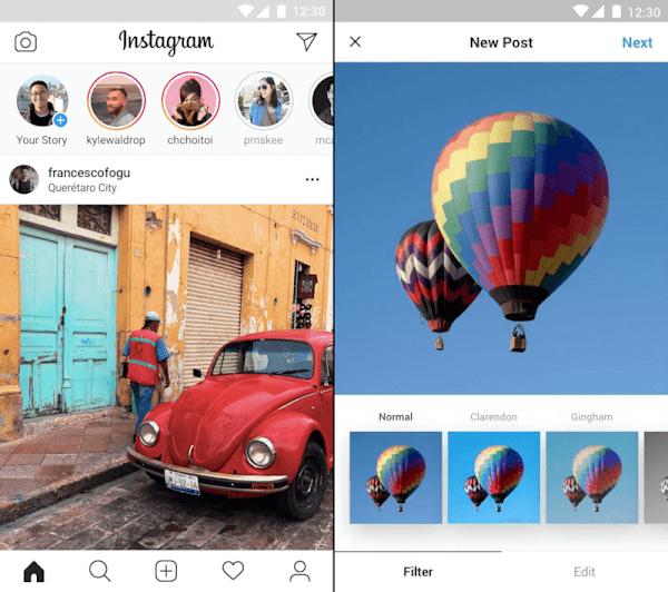 Fitur-fitur Instagram Lite