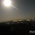 O brilho da Super Lua sobre a cidade de Matureia, em fotos.