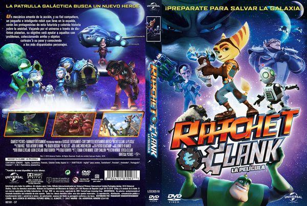 Ratchet & Clank La Película – Castellano, Inglés – DVD9