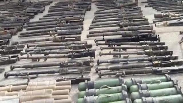 Siria halla armas de EEUU y la UE en poder de Daesh en Deir Ezzor