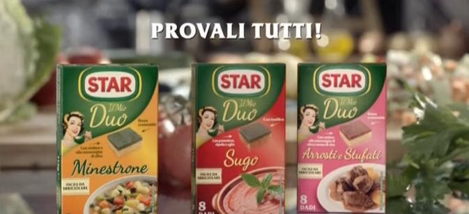 Canzone Star pubblicità dadi Duo - Musica spot Gennaio 2017