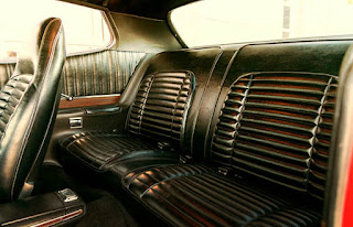 1972 Plymouth Satellite Sebring 318 Rear Seats Picture