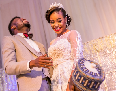 comedian omobaba wedding photos