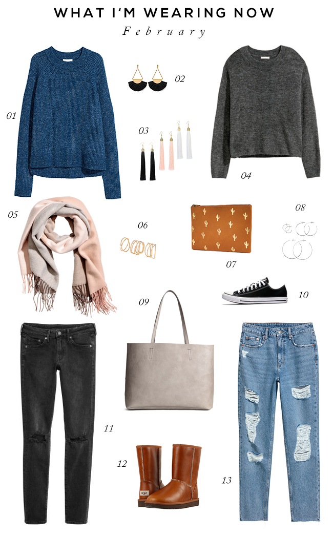 Late Winter/Early Spring Casual Style Staples