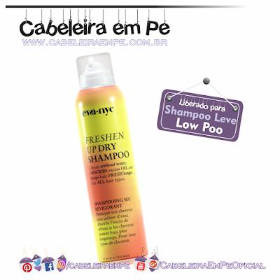 Shampoo Seco Freshen Up Dry Shampoo - Eva NYC (Liberado para Low Poo)